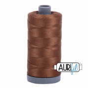 Aurifil 28 Cotton Thread - 2372 (Mid Brown)
